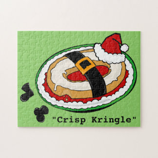 FUNNY CRISP KRINGLE HOLIDAY CHRISTMAS PUZZLE