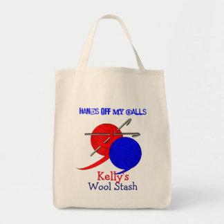 Funny Crochet Wool Bag