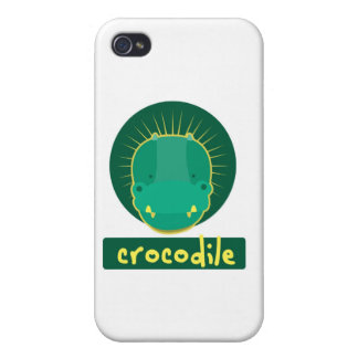 funny crocodile case for iPhone 4