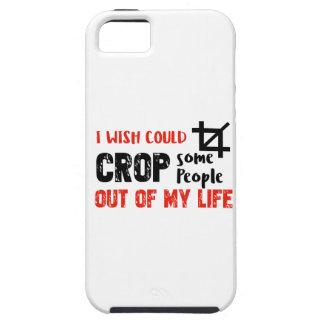 Funny crop people Geek designs iPhone 5 Cover