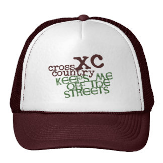 Funny Cross Country Running © Keeps me off Streets Cap