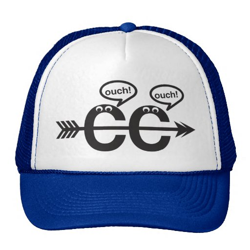 Funny Cross Country Running - Ouch! Hats