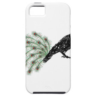 funny crow iPhone 5 cover