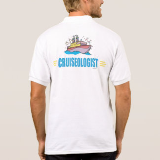 Funny Cruise Ship Polo T-shirts