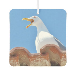 Funny Crying Seagull Car Air Freshener