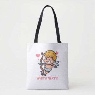 Funny Cupid Valentine's Day   Tote Bag