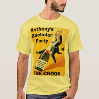 Funny custom bachelor and stag parties T-Shirt