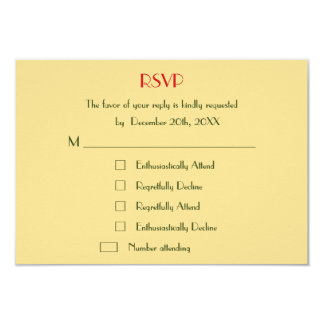 Funny Custom Holiday Christmas Wedding RSVP Invite