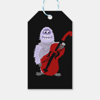 Funny Cute Abominable Snowman with Cello