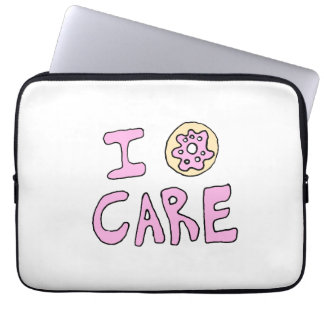 Funny Cute Donut Laptop Sleeve