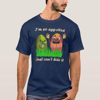 Funny Cute Easter Eggs Cartoon T-Shirt