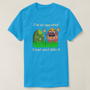 Easter egg puns gifts on zazzle au funny cute easter eggs kids cartoon egg hunting t shirt negle Image collections