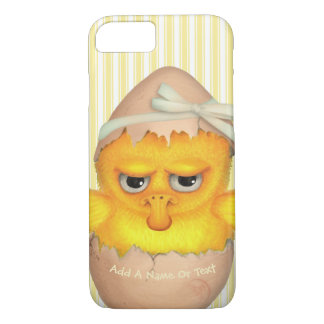 Funny Cute Grumpy Chick iPhone 7 Case