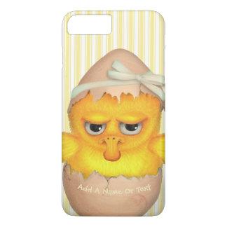 Funny Cute Grumpy Chick iPhone 8 Plus/7 Plus Case