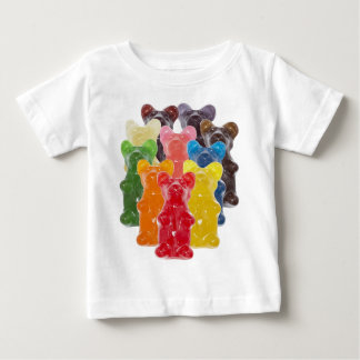 Funny Cute Gummy bear Herds Baby T-Shirt