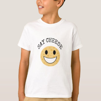 funny cute joke say cheese T-Shirt
