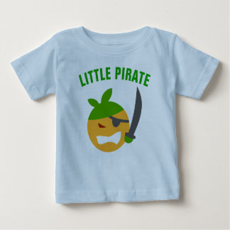 Funny Cute Little Pirate Baby T-Shirt
