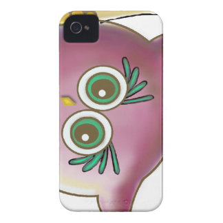 Funny Cute Owl Picture Case-Mate iPhone 4 Cases