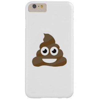Funny Cute Poop Emoji Barely There iPhone 6 Plus Case