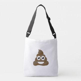 Funny Cute Poop Emoji Crossbody Bag