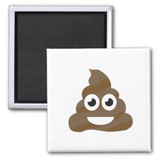 Funny Cute Poop Emoji Magnet