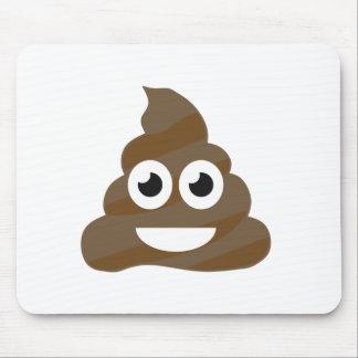 Funny Cute Poop Emoji Mouse Pad