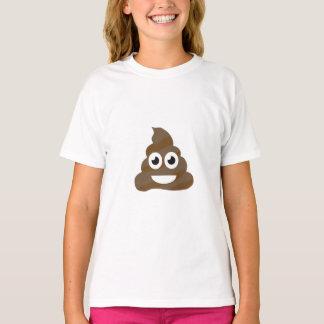 Funny Cute Poop Emoji T-Shirt