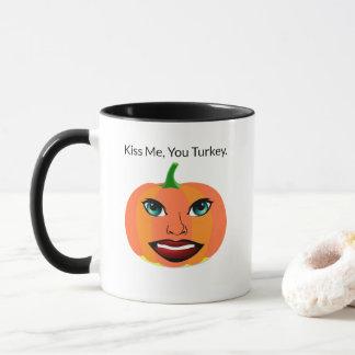 Funny Cute Pumpkin Customizable Mug