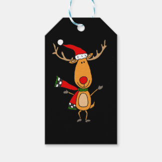 Funny Cute Rudolph Red-Nosed Reindeer