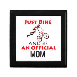 Funny Cycling mom Gift Box
