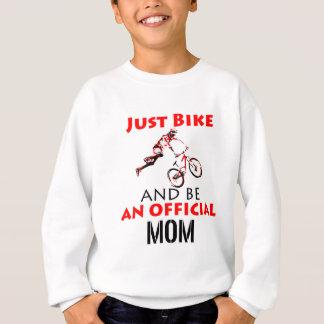 Funny Cycling mom Sweatshirt