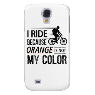 Funny Cycling Tees Galaxy S4 Case