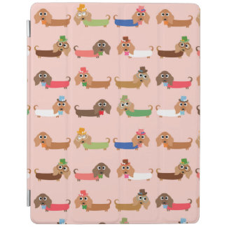 Funny Dachshund Dogs iPad Cover