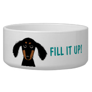 Funny Dachshund with Custom Text