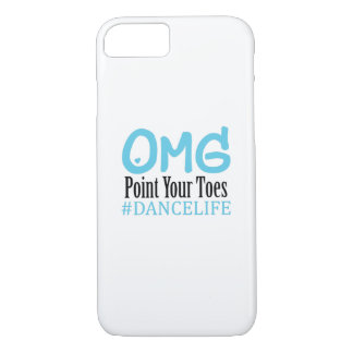 Funny Dance Gift Teacher Omg Point Your Toes iPhone 8/7 Case
