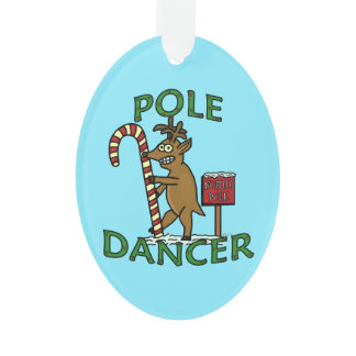 Funny Dancer Christmas Reindeer Pun