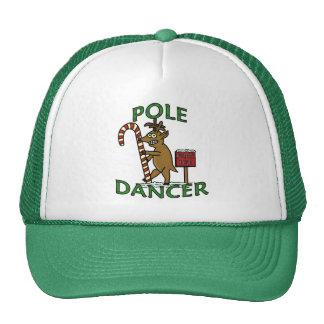 Funny Dancer Christmas Reindeer Pun Cap