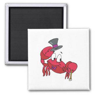 funny dancing crab fridge magnets
