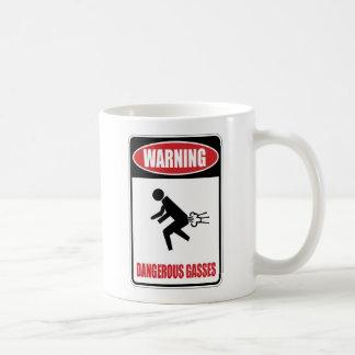 Funny Dangerous Gasses Mugs