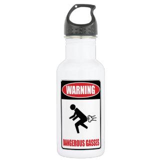 Funny Dangerous Gasses 532 Ml Water Bottle