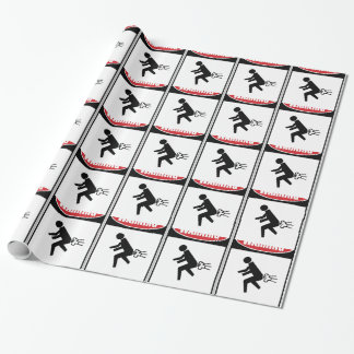 Funny Dangerous Gasses Gift Wrapping Paper
