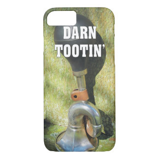Funny Darn Tootin' Antique Bicycle Horn iPhone 7 Case