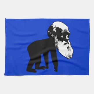 Funny Darwin evolution Tea Towel