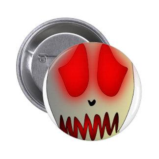 Funny Dead Evil Sad Skull Buttons