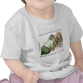 Funny Debt Sea Scrolls Tee Shirt