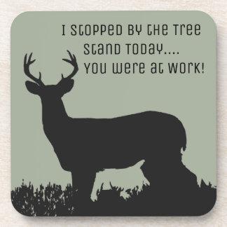 Funny Deer Hunting Coasters