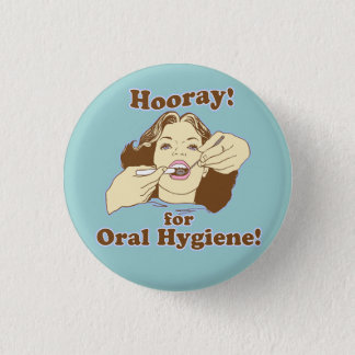 Funny Dental Professional 3 Cm Round Badge