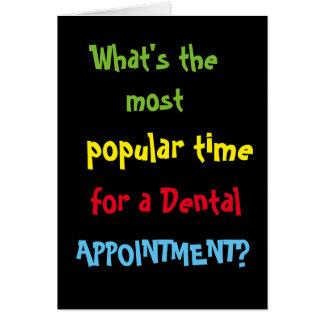Funny Dentist Birthday Dentist Joke - Add Caption Card