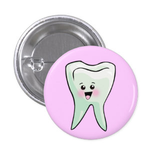 Funny Dentist Dental Health 3 Cm Round Badge