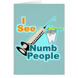 Funny Dentist Dental Hygienist Card